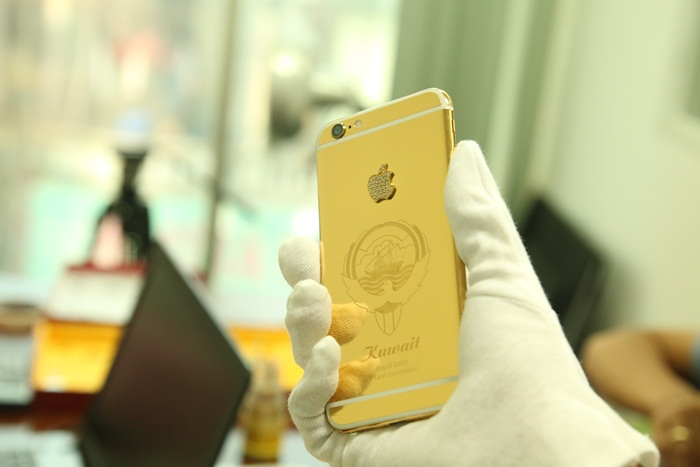 iphone 6 gold cho Arap | Gold plating iPhone 6 Ediion Limited