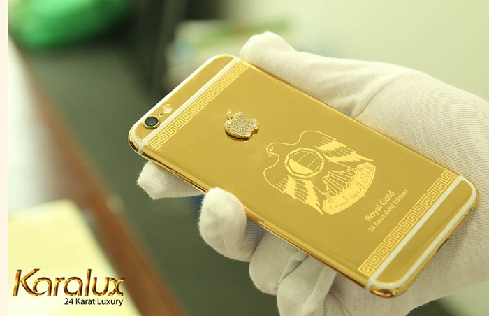 iphone 6 gold limited