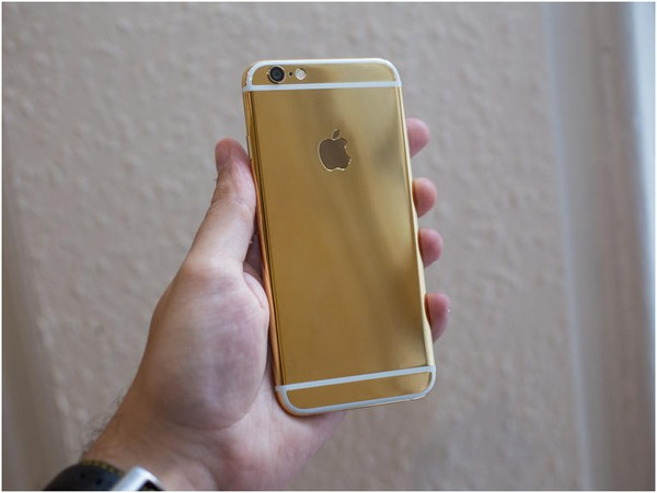 iphone 6 mạ vàng 24K|Dien thoai iphone 6, 6 plus ma vang