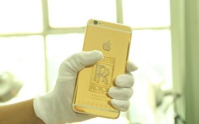 iphone6 Mạ Vàng Độc Đáo