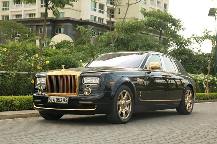 Gold Rolls Royce >> Super Car Rolls Royce Phantom 24k Gold Plated Dragon Edition