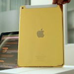 A world's first 24K gold-plated iPad Air 2 unveiled on market