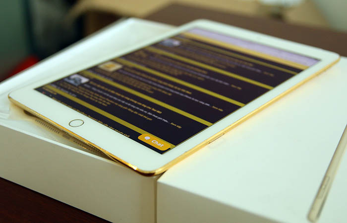 gold ipad air 2 | 24K gold-plated iPad Air 2 in Vietnam