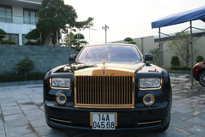 sieu xe Rolls-Royce Phantom ma vang1