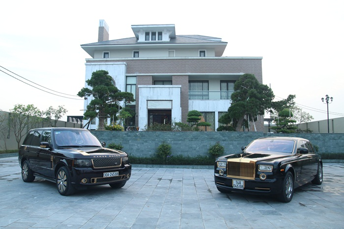 sieu xe Rolls-Royce Phantom ma vang11