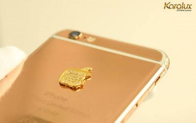 iphone 6 vang socola | Ip6plus mạ vàng chocolate