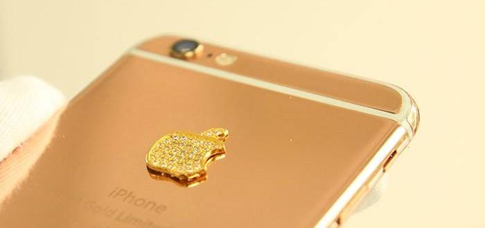 iphone 6 vang socola   Ip6plus mạ vàng chocolate