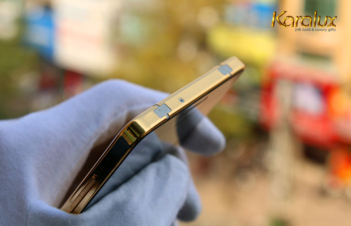 Samsung Galaxy A5, A3, A7 mạ vàng 24K bởi Karalux