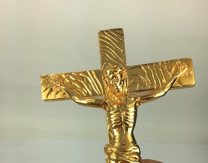 chua gie su ma vang | Tượng chúa Giê su mạ vàng 24K