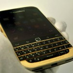 Karalux unveil 24K gold-plated BlackBerry Classic