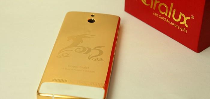 Nokia 515 gold mạ vàng 24K
