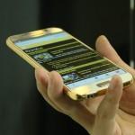 Samsung Galaxy S6 và S6 Edge mạ vàng đầu tiên tại Việt Nam