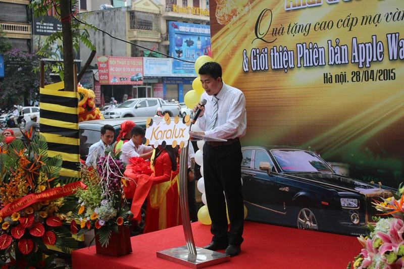 Lễ khai trương Karalux, khai trương dịch vụ mạ vàng tại Hà Nội của VinaTAB