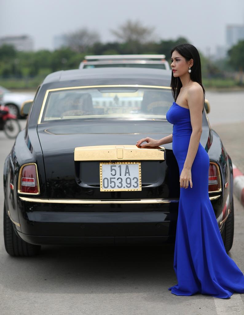 Lo HUong Tram, người mẫu Lô Hương Trâm