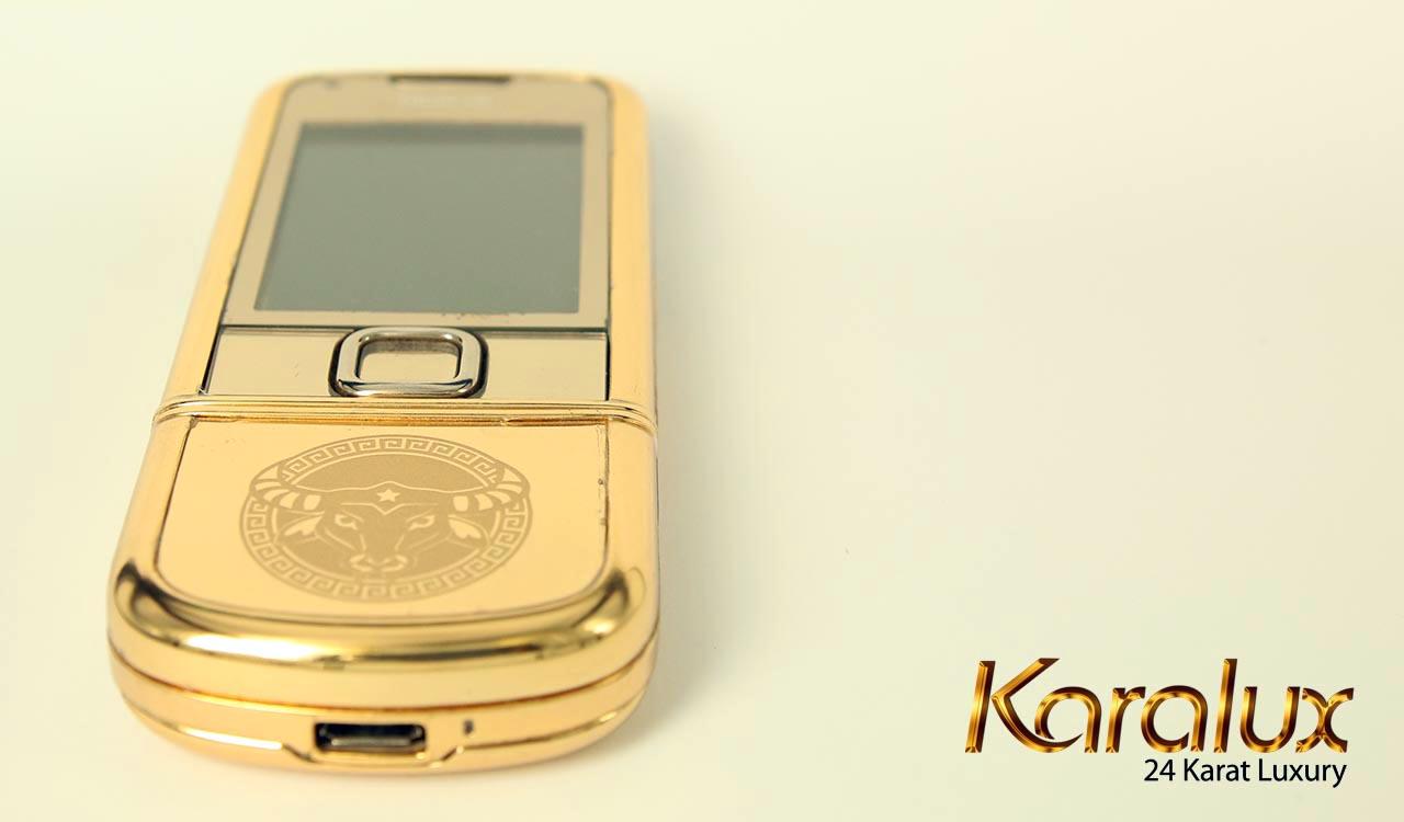 Nokia-8800-gold, N8800 mạ vàng 18K, 24K