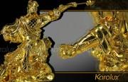 Tượng Quan Công-Vân Trường mạ vàng 24K