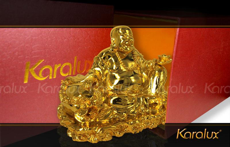 tuong pha di lac, tượng phật di lặc mạ vàng 24K