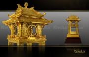 Khue Van Cac, biểu tượng của Hà Nội mạ vàng