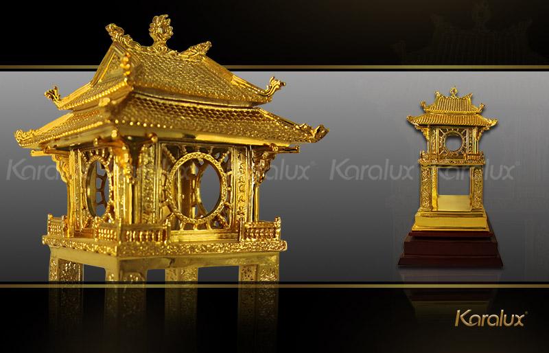 Biểu Tượng Khuê Văn Các Bằng Đồng Mạ Vàng 24K