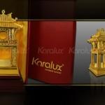 Biểu tượng Khuê Văn Các đúc đồng mạ vàng tinh xảo