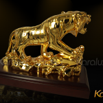 Video giới thiệu linh vật Hổ mạ vàng mang thương hiệu Karalux