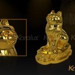 Mua tượng Mèo phong thủy mạ vàng tại Hà Nội