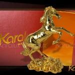 Video tượng Ngựa phong thủy mạ vàng 24k cho người tuổi Ngọ