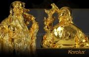 Tượng Phúc Lộc Thọ, tượng 3 ông Tam Đa mạ vàng
