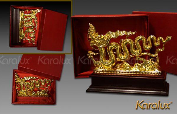 Biểu Tượng Rồng Thời Lý Mạ Vàng 24K
