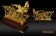 Tượng Rồng thời Lý mạ vàng 24K