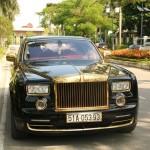 Siêu xe Rolls-Royce Phantom mạ vàng phiên bản Rồng Việt Nam