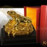 Tư vấn mua tượng Trâu phong thủy mạ vàng