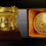 Trống đồng mạ vàng làm quà tặng ý nghĩa