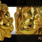Cách bày trí tượng Phật Di lặc mạ vàng phù hợp nhất