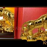 Những điều cần lưu ý khi bày trí tượng hổ phong thủy mạ vàng
