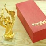 Karalux giới thiệu tượng chúa Giê su mạ vàng