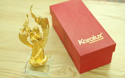 tượng giê su, tượng chúa giê su mạ vàng 24K