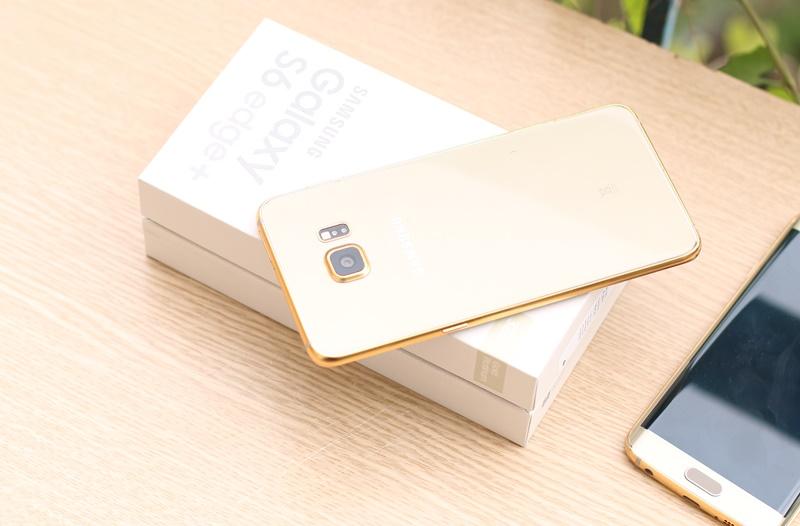 Galaxy S6 Edge + plus mạ vàng 24K, giá bán điện thoai Samsung S6 + tại Hà Nội, Tp HCM
