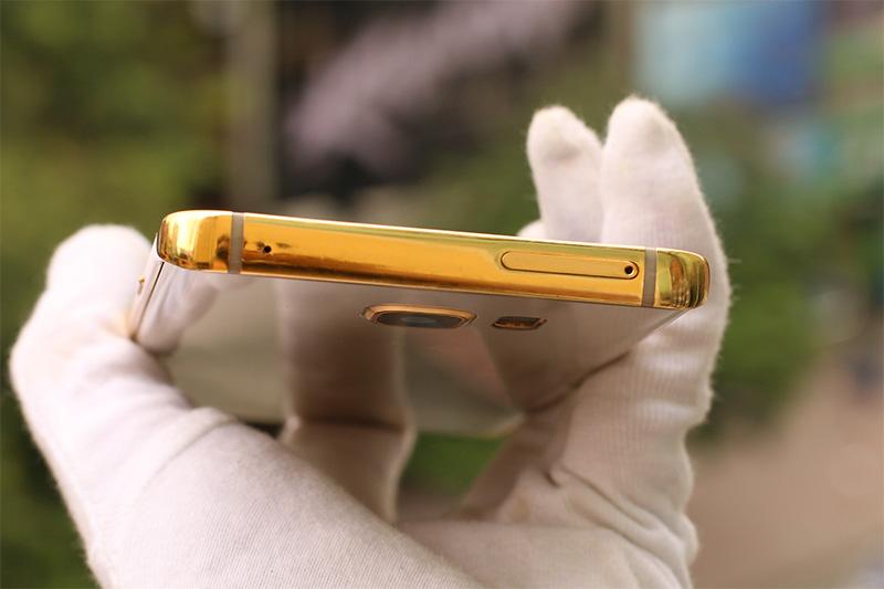 Karalux trình làng Galaxy Note 5 mạ vàng đầu tiên tại Việt Nam
