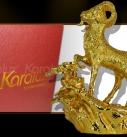 Tượng Dê huy hoàng mạ vàng, bán linh vật Dê phong thủy mạ vàng 24K tại Hà Nội, tp HCM