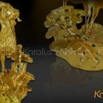 Tác dụng và ý nghĩa Linh vật Dê phong thủy mạ vàng 24K