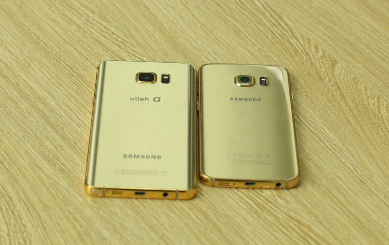 Gold galaxy note, price for 24K gold samsung note5 in UK, Long, UEA