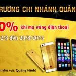 Khai trương điểm giao dịch mạ vàng Karalux tại Quảng Ninh