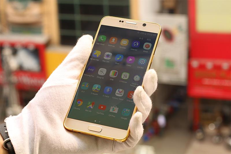 Samsung Galaxy Note 5 mạ vàng 24K