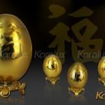 Trứng Vàng – Biểu Tượng May Mắn, Hấp Lực Và Sinh Sôi