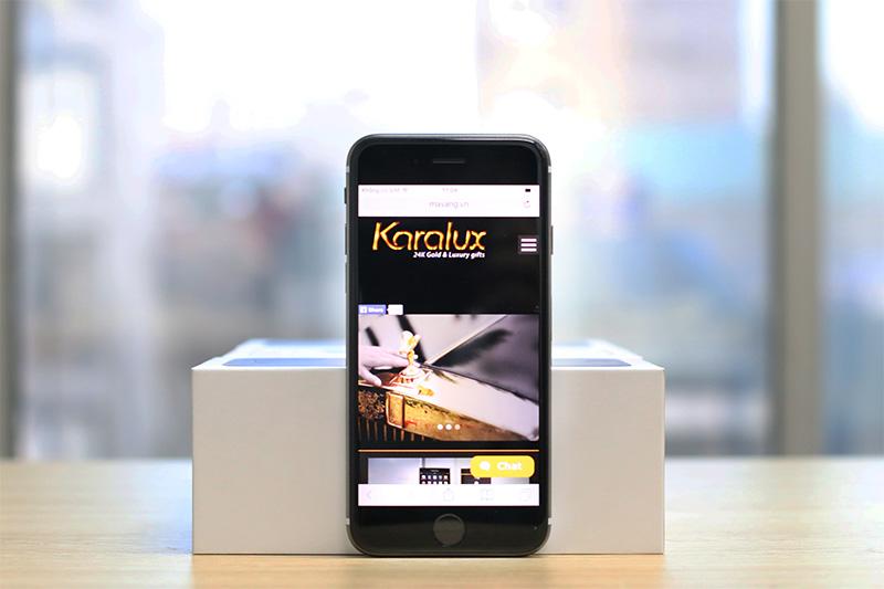 black gold iphone 6s, iPhone 6s mạ vàng đen 24K