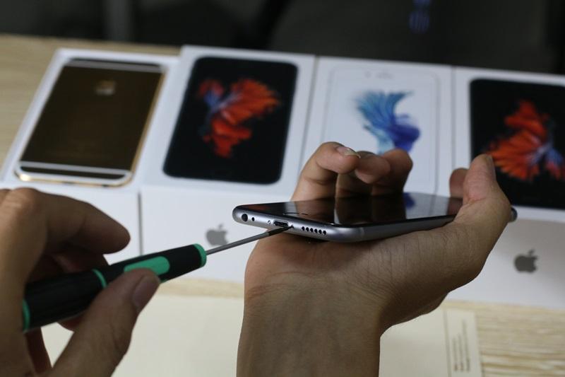 Hướng dẫn tháo, mổ dời các chi tiết của iPhone 6s, 6s plus