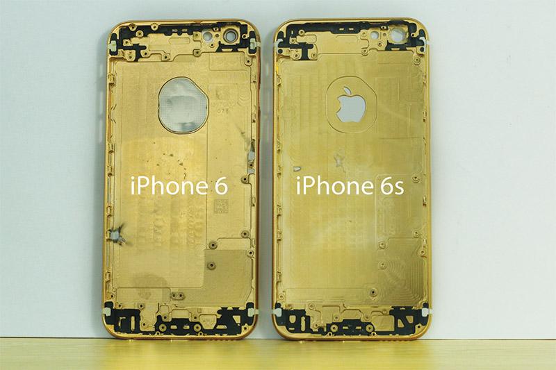 Vỏ khung xương iPhone 6s mạ vàng 24K tại Việt Nam | Karalux Tp HCM