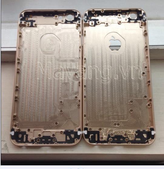 vo xuong iphone 6s ma vang, thay xương vỏ iphone 6s mạ vàng 24K tại Hà Nội, HCM