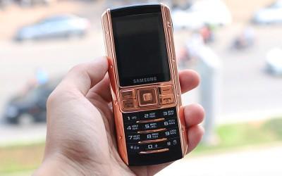 Samsung Ego S9402 mạ vàng hồng đầu tiên tại Việt Nam